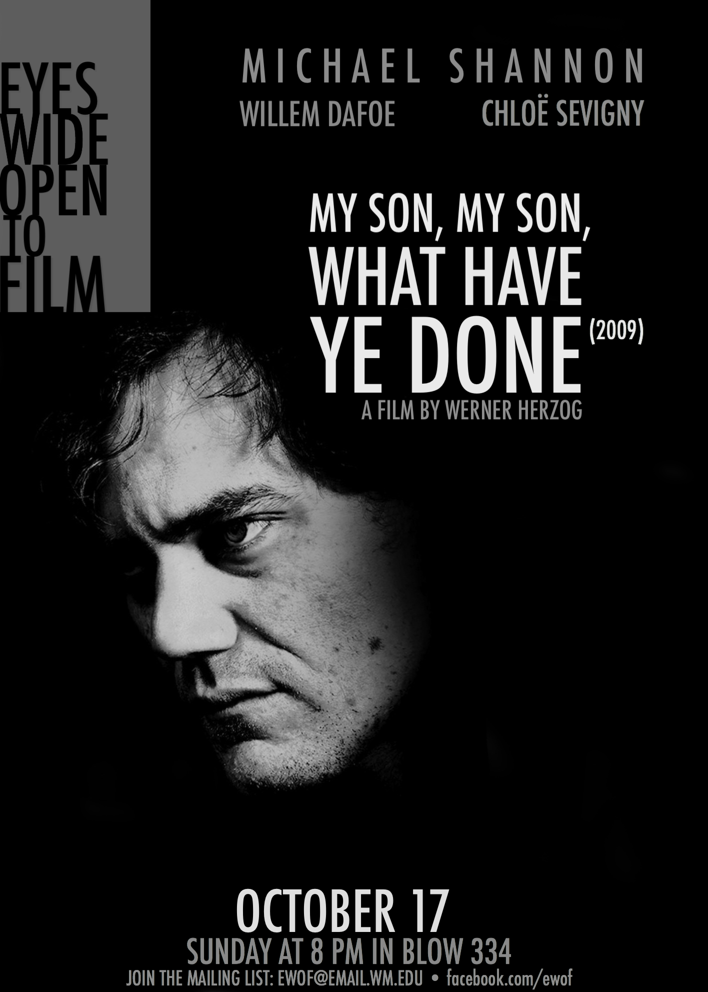 My Son My Son What Have Ye Done Poster George Mokhiber
